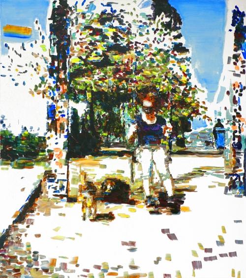 »noratia«  acryl/leinwand  160cm x 120cm  2007