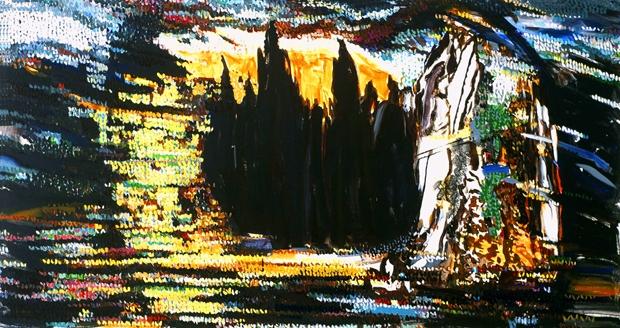»o.T.«  öl/leinwand  130 cm x  80cm   2005