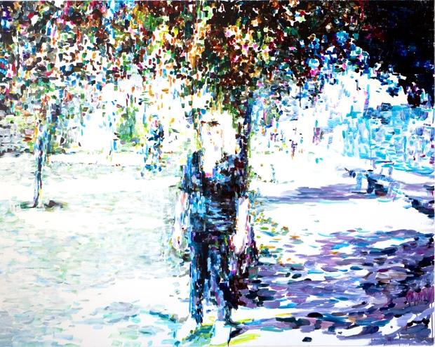 »next lover«  acryl/leinwand   160cm x 200cm  2008