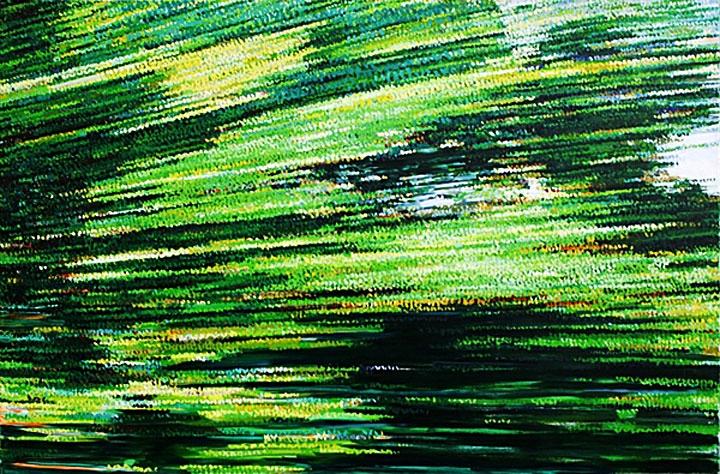 »zisch2«     öl/leinwand     150cm x 190cm    2007