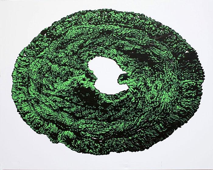 »kleines weiß«   acryl/leinwand   160cm x 200cm   2009