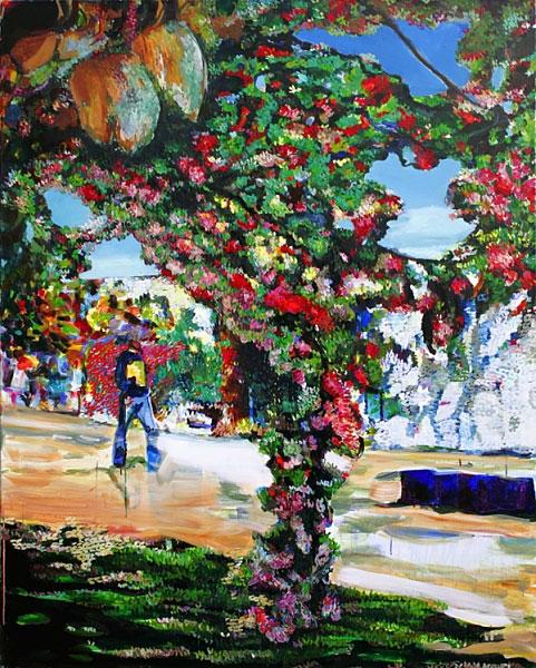 »mauerpark«  öl/leinwand  150cm x 120cm  2006