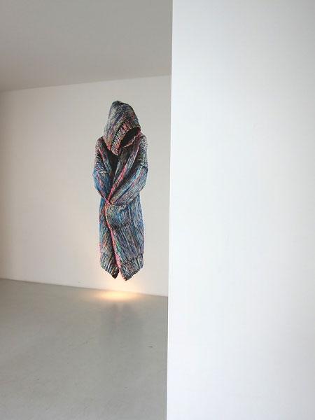 »oT« acryl/papier/ausgerissen + tapeziert  265cm x 132cm  2010