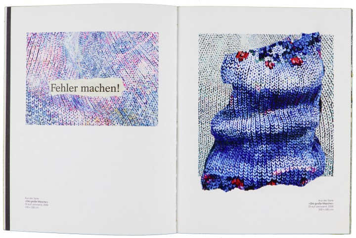 »Monomanisches  oder ein tag ohne wasser und trotzdem geliebt« Collage im eigenen Katalog 26,5 cm x 30,5 cm 2015